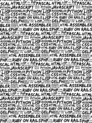Programming Languages - Black, White