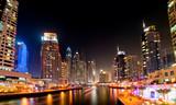 Dubai Marina by night - 50899936