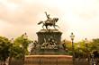 Statue von Equestre de D. Pedro I in Rio de Janeiro