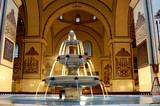 Bursa Grand Mosque fountain in