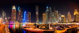 Dubai Skyline by night - 50904160