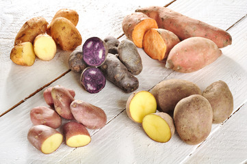Different sorts of Potatos