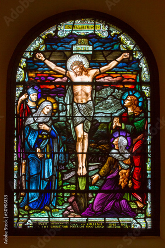 Obraz na Szkle Crucifixion