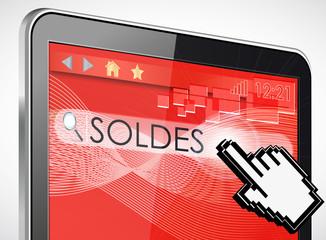tablette tactile rechercher : soldes
