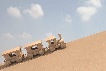 Toy train Render