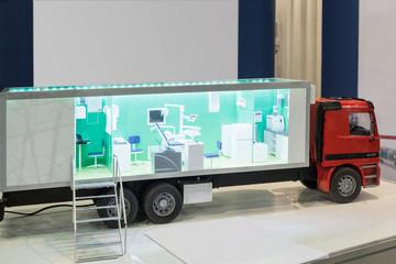 mobile medical diagnostic equipment