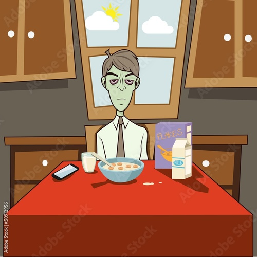 "Dozombox The Capitalism Zombie "" Breakfast """