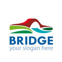Vector Logo Bridge