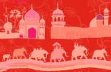 Indian decor with elephants