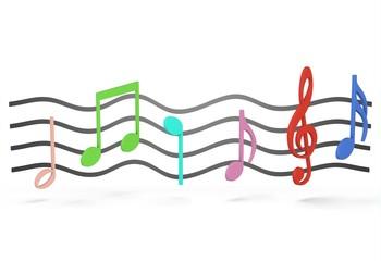 Des notes de musiques !