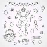 Doodles with the Easter Bunny