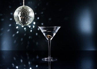 Martinis on the dance floor
