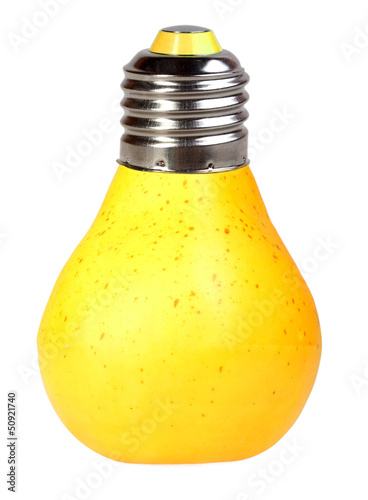 Pear as lamp