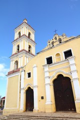 Cuba landmark - San Juan church in Remedios