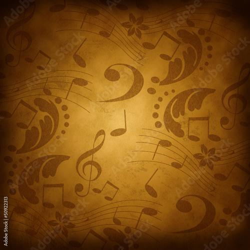Fond ancien-musique