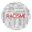 """Nuage de Tags """"RACISME"""" (paix liberté égalité fraternité idées)"""