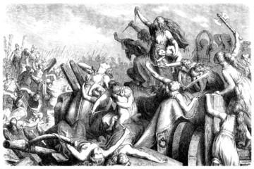 Germania : Women fighting against Roman Invaders