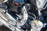 Fototapety bike engine as background