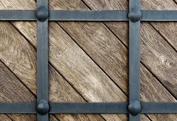 wood clad iron