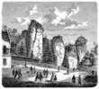 Strange Rocks : Tourists - 19th century