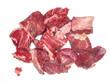 Rindfleischstücken