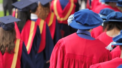 Graduates at Simon Fraser University
