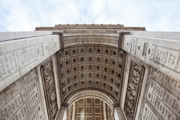Arch detail of Arc de Triomphe