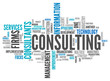 "Word Cloud ""Consulting"""