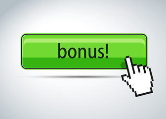 Bonus button and mouse hand cursor