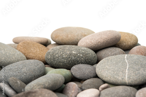 pebbles isolated