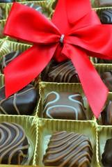 Scatola di cioccolatini assortiti
