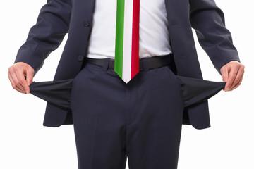 leere Taschen - Italien