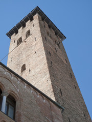 Padua, Italy: Old castle tower