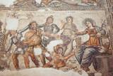 Roman mosaic in Paphos, Cyprus