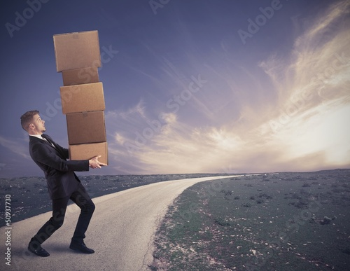 Difficult career of a businessman