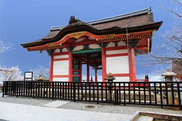 Kyomizu Temple in Winter Season kyoto Japan
