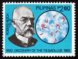 Postage stamp Philippines 1982 Robert Koch