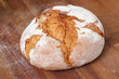 fresh farmhouse bread - frisches Bauernbrot
