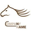 Pferd - Zeichen / Logo
