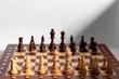 Schach - Aufstellung Weiß/Schwarz