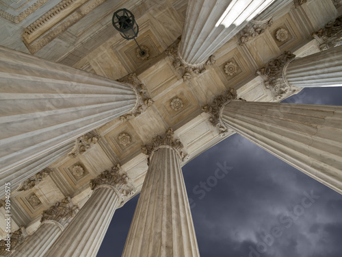 US Supreme Court Columns and Storm