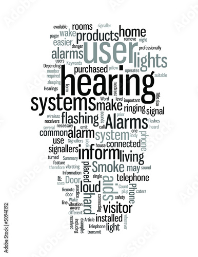 Hearings aids for home living