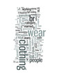 How many kinds of clothing people are