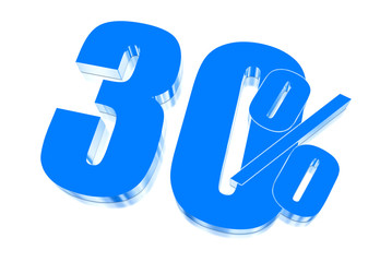 30 percent discount on three-dimensional