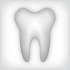 einzelner Zahn