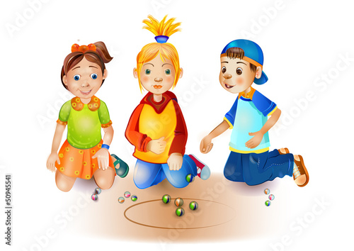 children's marbles game
