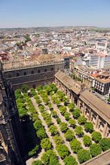 Patio de los Nranjos de la catedral de Sevilla