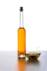 Gelbe Flasche