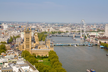 Westminster and River Thames, London