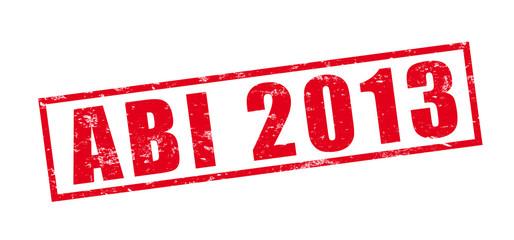 Stempel Abi 2013